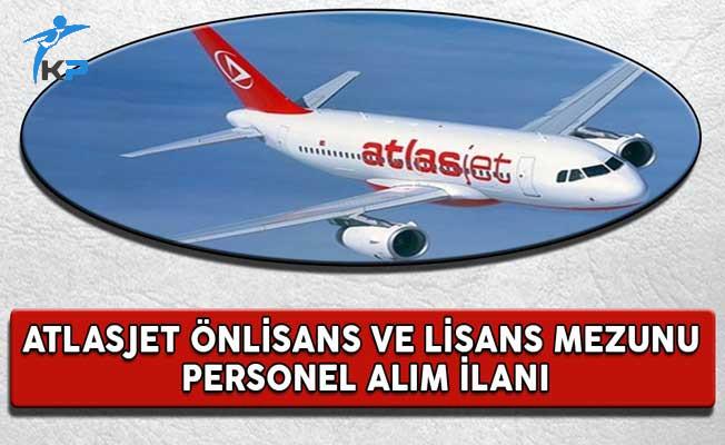 Atlasjet Önlisans ve Lisans Mezunu Personel Alım İlanı