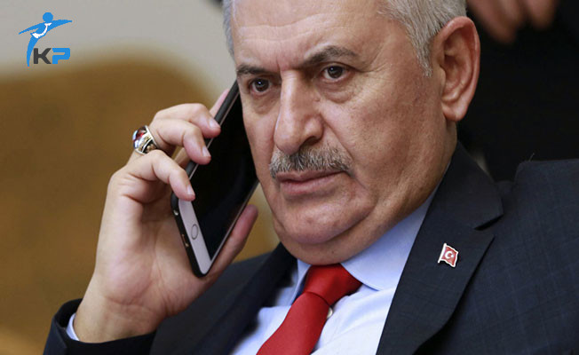 Başbakan Binali Yıldırım'dan İbrahim Erkal'ın Eşine Taziye Telefonu
