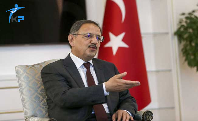 Çevre ve Şehircilik Bakanı Özhaseki'nden Kentsel Dönüşüm Açıklaması