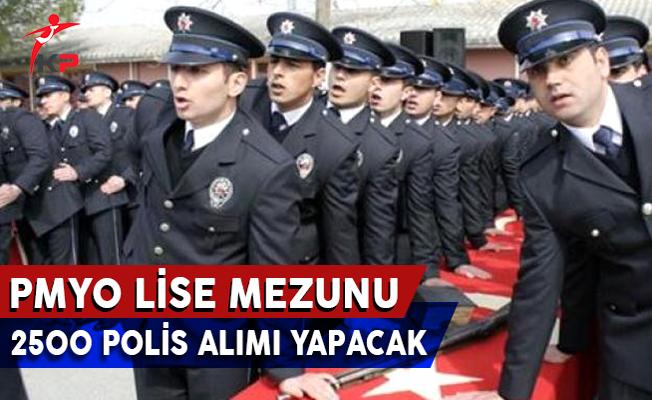 Lise Mezunu 2 Bin 500 Polis Memuru Alım İlanı Yayımlandı