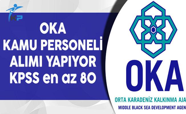Orta Karadeniz Kalkınma Ajansı (OKA) KPSS'li ve KPSS'siz Kamu Personeli Alıyor