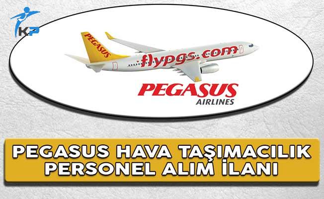 Pegasus Hava Yolları Personel Alım İlanı