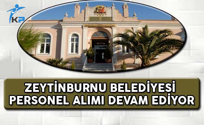 Zeytinburnu Belediyesi Personel Alım İlanı Başvuruları Devam Ediyor