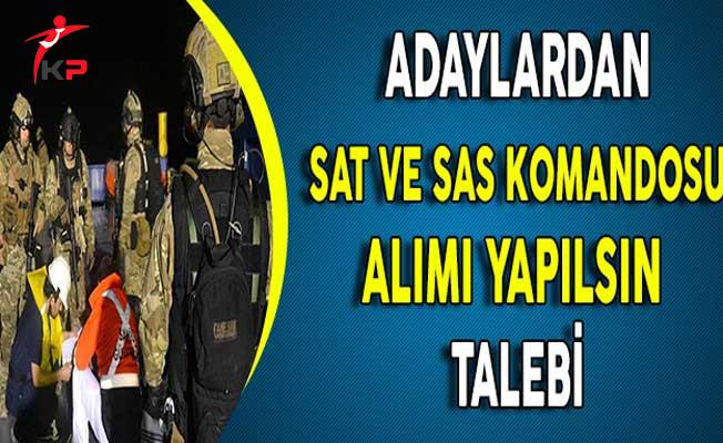 Adaylardan Deniz Kuvvetleri Komutanlığı SAT ve SAS Komandosu Alımı Yapılsın Talebi