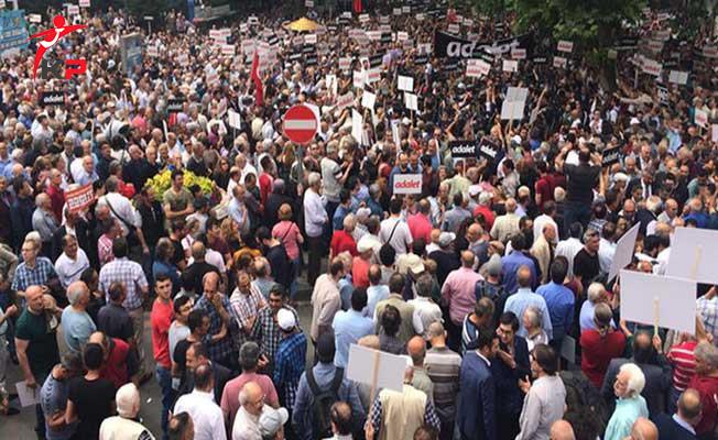 CHP'nin Güvenpark'ta Başlayan Yürüyüşünde Son Durum ! Kaç Kişi Katıldı?