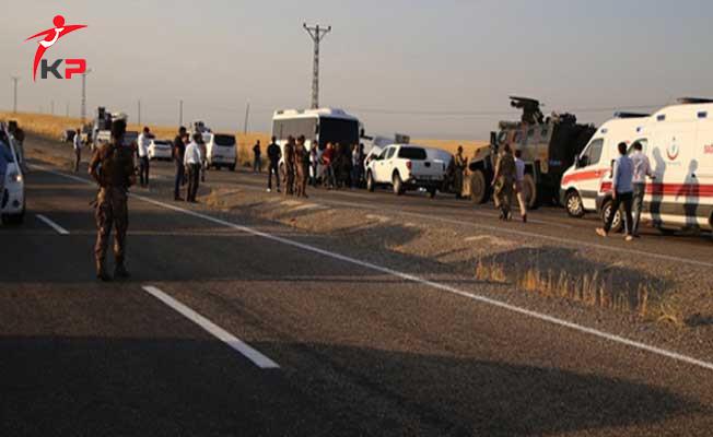 Diyarbakır'da Polis Aracı İle Sivil Araç Çarpıştı ! 5 Ölü 5 Yaralı