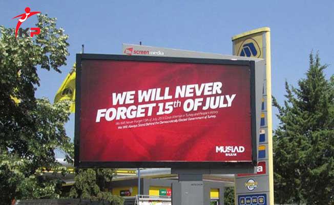 ABD'den Beklenmedik 15 Temmuz Yasağı
