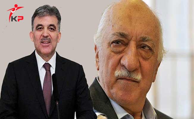 Abdullah GÜL: Gülen'le Kesinlikle Görüşmedim
