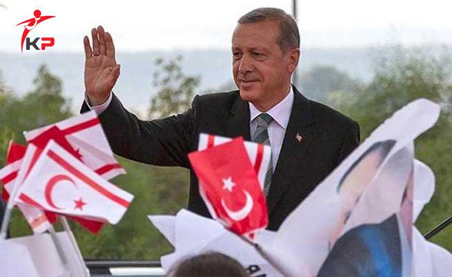Cumhurbaşkanı Erdoğan'dan Kıbrıs Barış Harekatı Mesajı