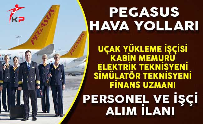 Pegasus Hava Yolları Personel ve İşçi Alımı Yapıyor