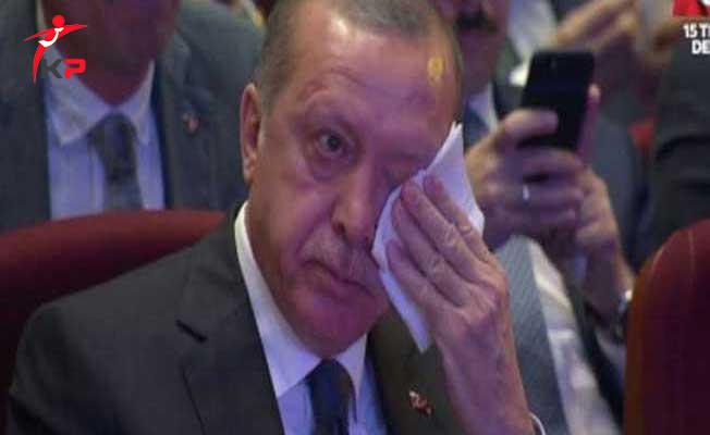 Son Dakika ! Cumhurbaşkanı Erdoğan Gözyaşlarına Engel Olamadı