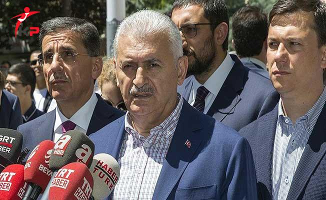 Sonuçlanmayan Kıbrıs Müzakerelerine İlişkin Başbakan Yıldırım'dan Açıklama