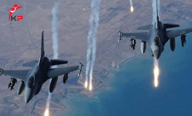 TSK'dan Kuzey Irak'a Hava Harekatı: 3 Terörist ve Mühimmat Depoları Etkisiz Hale Getirildi