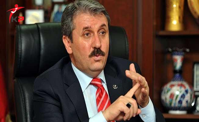 BBP Genel Başkanı Destici'den CHP'li Akaydın'a Sert Tepki