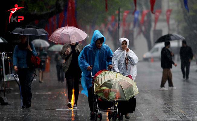 Meteorolojiden 7 İlimize Sağanak Yağış Uyarısı Geldi