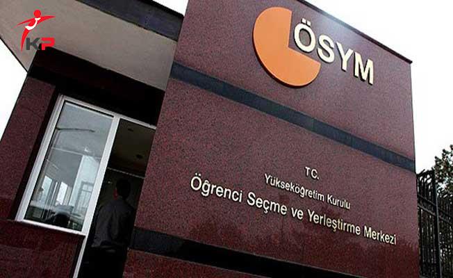 ÖSYM'den DGS adaylarına 'eğitim bilgilerini güncelleme' uyarısı