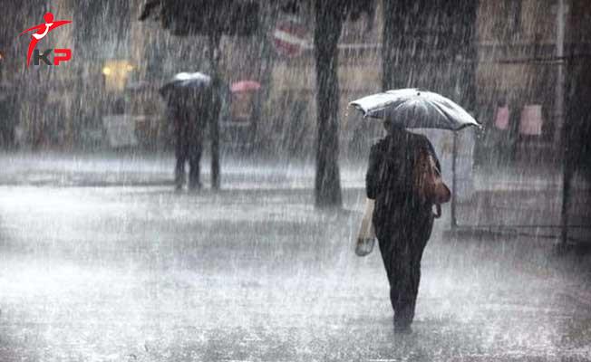 Sıcak Gelişme: Meteoroloji Saat Vererek Uyardı ! Şiddetli Yağış Geliyor