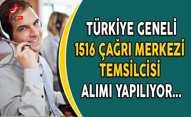 Türkiye Geneli İşkur Üzerinden 1516 Çağrı Merkezi Temsilcisi Alımı Yapılıyor!