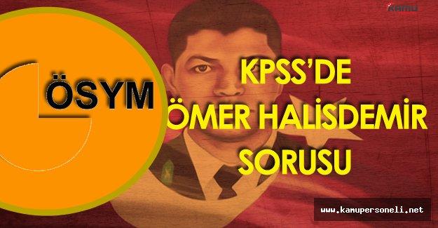 20 Kasım 2016 KPSS Ortaöğretim'de  Şehit Ömer Halisdemir Üniversitesi Hangi Şehirde Sorusu Soruldu