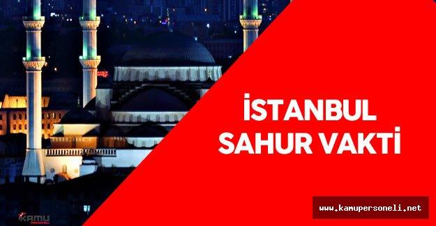 24 Haziran 2016 İstanbul Sahur Vakti - En Güzel Sahur Duası