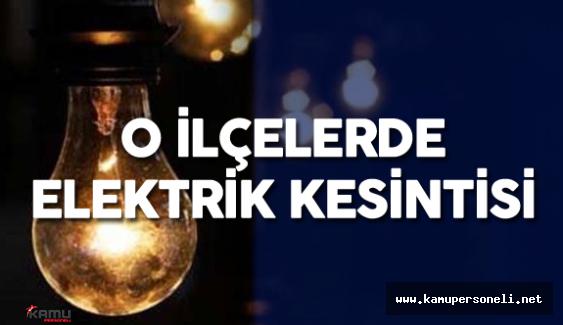 26 Mayıs 2016 İstanbul Elektrik Kesintisi Olacak Mahalleler