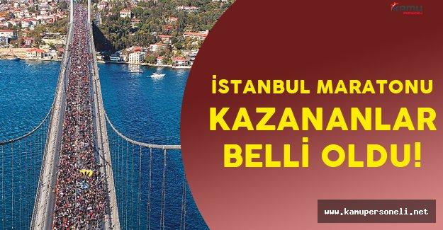 38'inci İstanbul Maratonunda Kazanlar Belli Oldu!