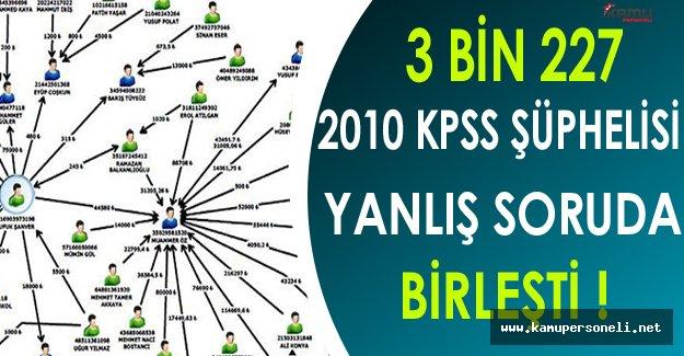 3 Bin 227 2010 KPSS Şüphelisi Yanlış Soruda Birleşti