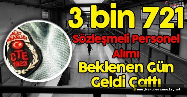 3 Bin 721 Sözleşmeli Personel Alımı için Beklenen Gün '6 Ekim'