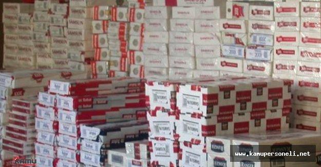 3 Milyon Paket Kaçak Sigara Yakalandı