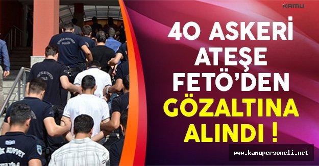 40 Askeri Ateşe FETÖ'den Gözaltına Alındı