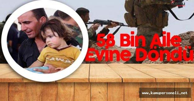 58 Bin Ailenin Vatan Hasreti Sona Erdi