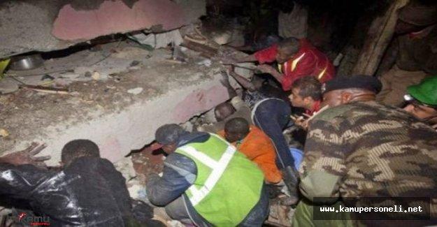 6 Katlı Bina Çöktü! Ölü Sayısı Artıyor