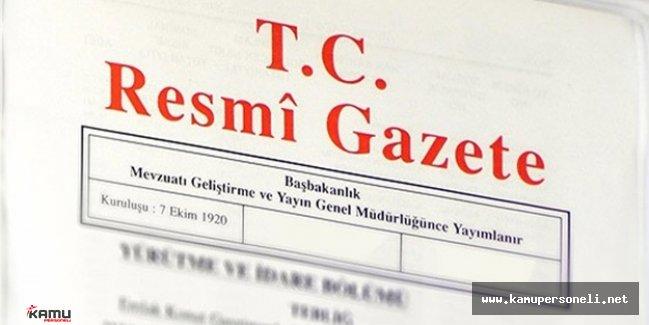 9 Haziran Resmi Gazete Bakanlıklara Ait Atama Kararları