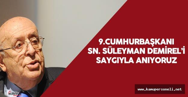 9.Cumhurbaşkanı Süleyman Demirel'in Ölüm Yıl Dönümü - Süleyman Demirel'in Siyasi Hayatı