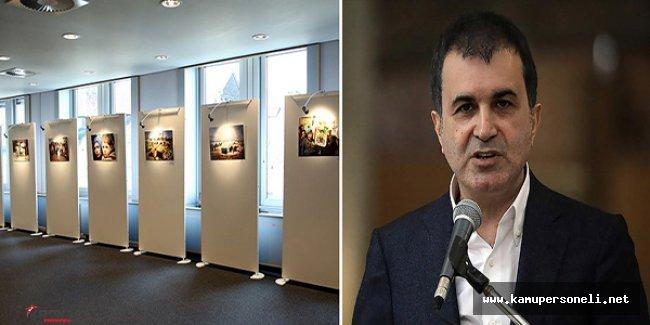 AB Bakanı Ömer Çelik AP'nun Teröristlere Yönelik Sergi Açmasına Tepki Gösterdi