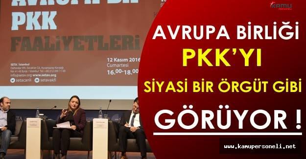 AB PKK'yı Siyasi Bir Örgüt Gibi Görüyor