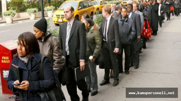ABD'de İşsizlik Maaşına Başvuranların Sayısı Beklentinin Üstünde Çıktı