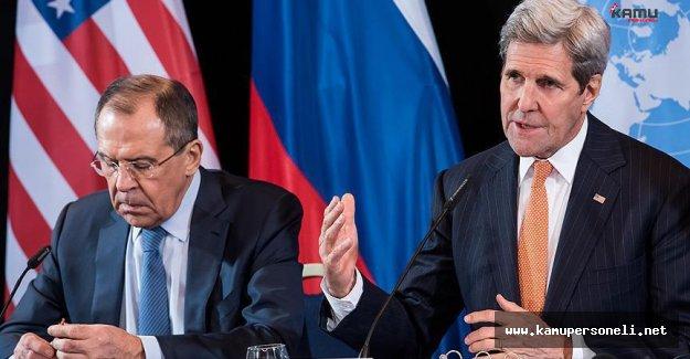 ABD ile Rusya Suriye'de Ateşkes Konusunda Mutabakata Vardı
