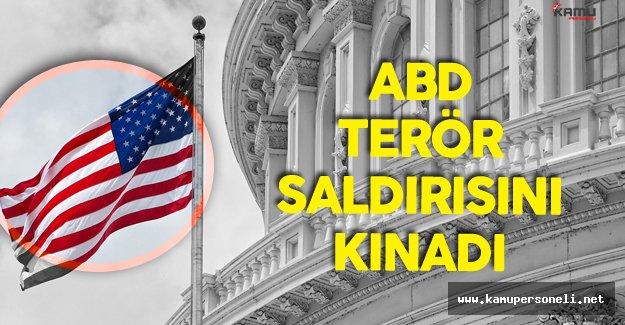 ABD PKK Saldırısını 'En Güçlü Şekilde' Kınadı