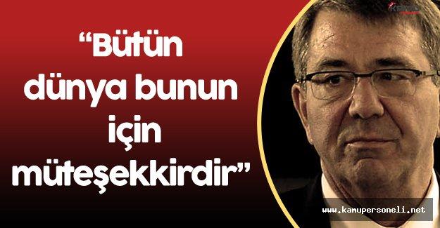 ABD Savunma Bakanı Carter'dan Türkiye'ye Teşekkür