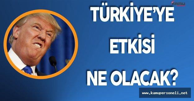 ABD Seçim Sonuçları Türkiye'ye Yarayabilir