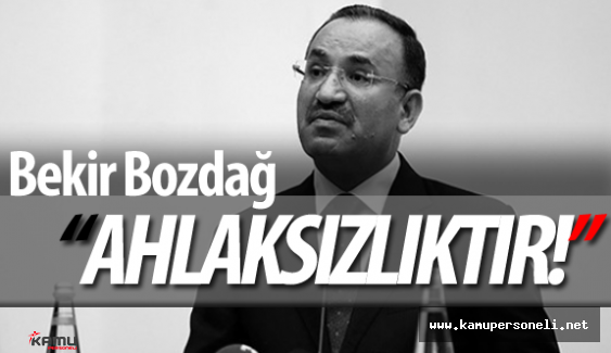 """Adalet Bakanı Bekir Bozdağ'dan Flaş """"MHP Kongresi"""" Açıklamaları"""