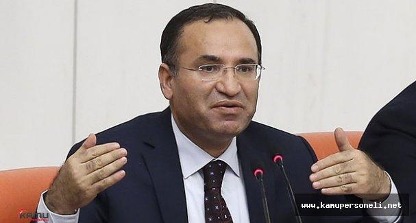 Adalet Bakanı Bozdağ Özlük Hakları Açıklaması Yaptı