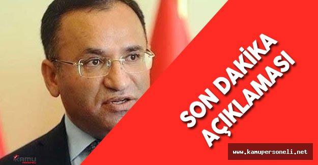 Adalet Bakanı'ndan Yüksek Yargı'daki Yeni Düzenleme Hakkında Son Dakika Açıklaması