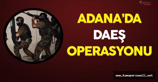 Adana 'da DAEŞ Operasyonu 6 Kişi Gözaltında