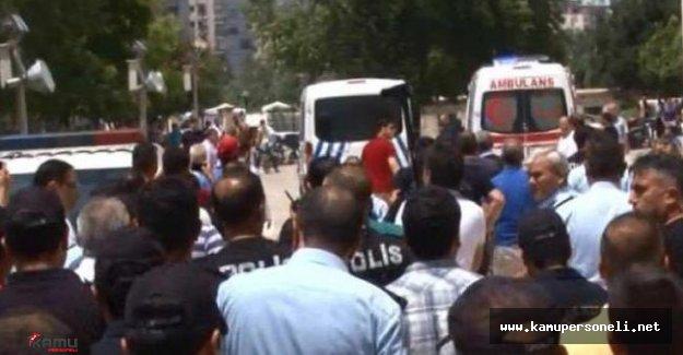 """Adana'da """"Üzerimde Bomba Var"""" Diyen Zanlı Tutuklandı"""