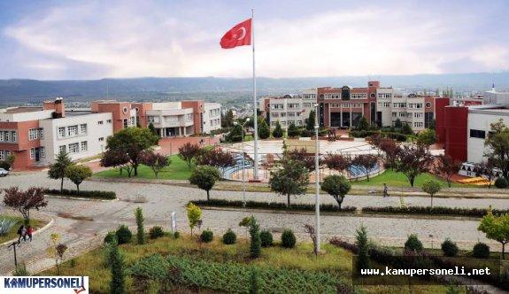 Adnan Menderes Üniversitesi Akademik Personel Alımı