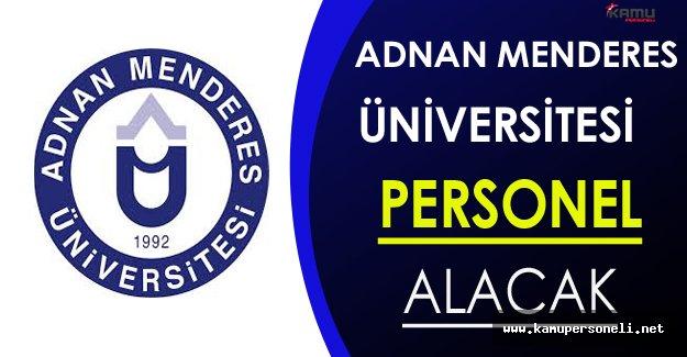Adnan Menderes Üniversitesi Personel Alıyor