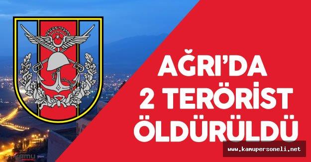 Ağrı'da 2 Bölücü Terörist Öldürüldü