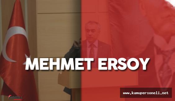 Aile ve Sosyal Politikalar Bakanlığı Bakan Yardımcısı Mehmet Ersoy Kimdir?